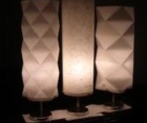 和紙あかりの家 幹心ランプ