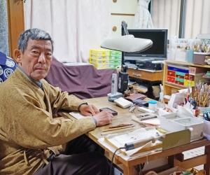 伝統手描き家紋 鹿島紋章工芸